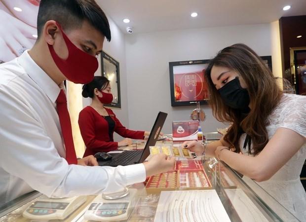 9月16日上午越南国内黄金价格继续保持稳定 hinh anh 1
