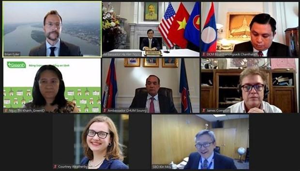 越南出席湄公河-美国伙伴关系1.5轨政策对话报告发布研讨会 hinh anh 1
