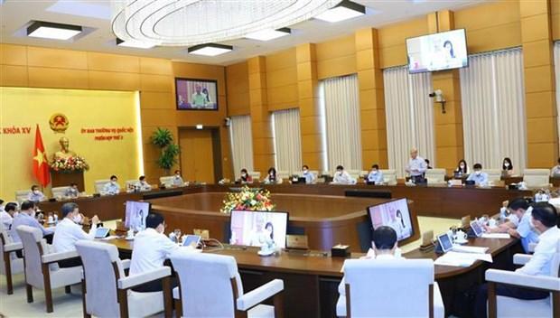 越南第十五届国会常委会第三次会议:为受疫情影响的企业和民众减免税收,助力克服困难 hinh anh 2
