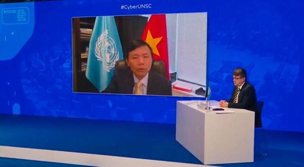 联合国安理会讨论网络空间安全问题 hinh anh 1
