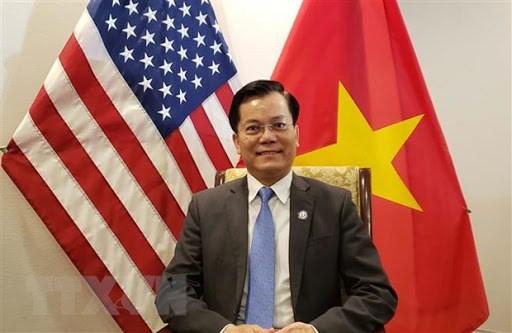 推动越南与美国全面伙伴关系不断向前发展 hinh anh 1