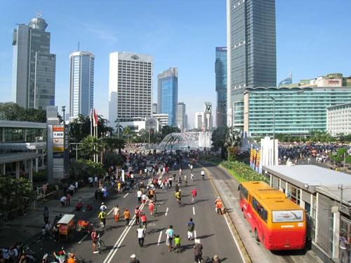 新冠肺炎疫情:印尼经济缓慢复苏 hinh anh 1