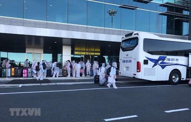 越南继续将在日本的350名公民接回国 hinh anh 1
