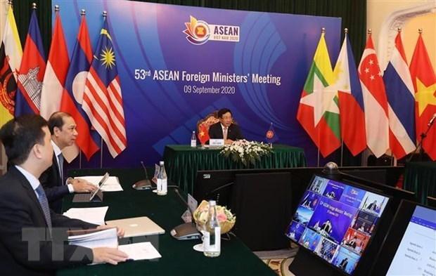 AMM 53:欧盟高度评价本届会议所取得的成功 hinh anh 1