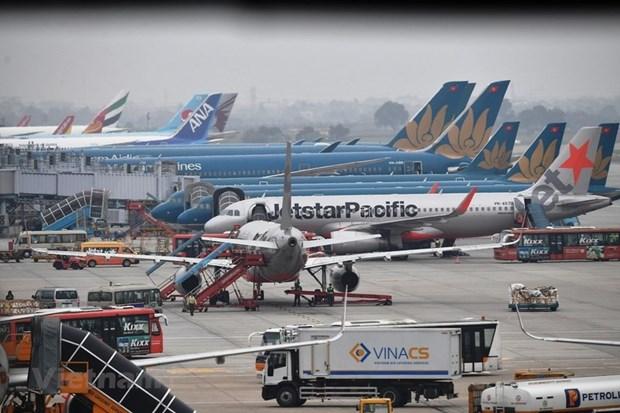 新冠肺炎疫情:越南航空局建议取消从岘港起飞的飞机中座椅间隔的规定 hinh anh 1