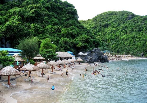 海防市吉婆日益成为具有吸引力的旅游目的地 hinh anh 1