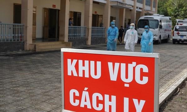 新冠肺炎疫情:平阳省加大对入境人员管控力度 hinh anh 1