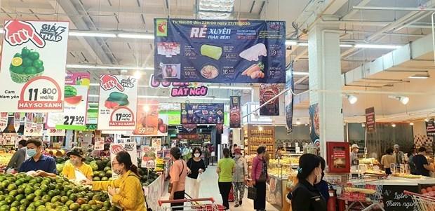 2020年越南商品零售和服务业收入约达5000万亿越盾 hinh anh 1
