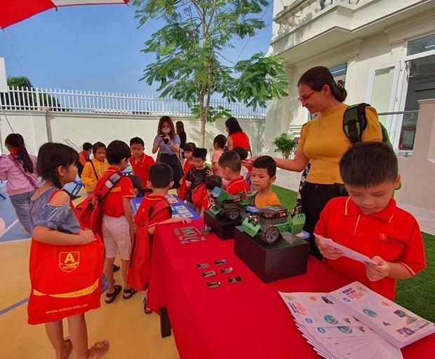 九龙江三角洲最现代的幼儿园落户芹苴市 hinh anh 2
