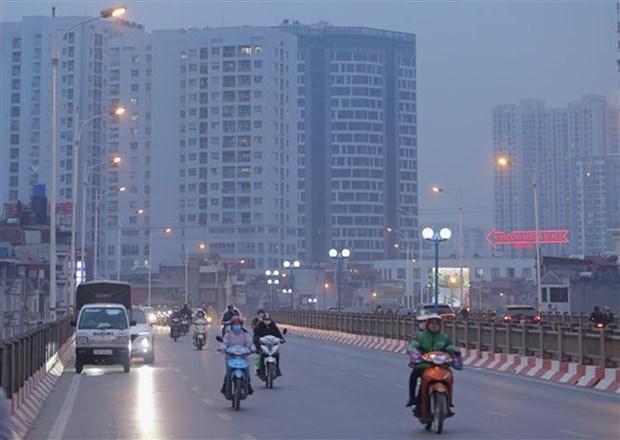 政府总理指示加大对大气污染的控制 hinh anh 1