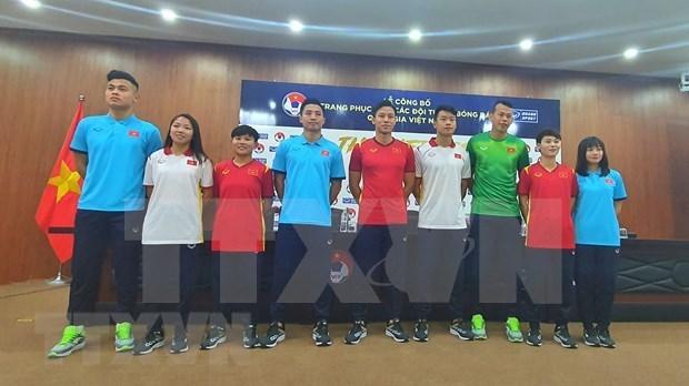 越南国家足球队队服正式亮相 hinh anh 2