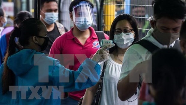 菲律宾新增确诊病例创下新高 印尼确诊病例数量尚未达到高峰 hinh anh 1