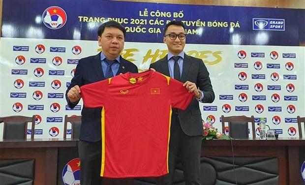 越南国家足球队队服正式亮相 hinh anh 1