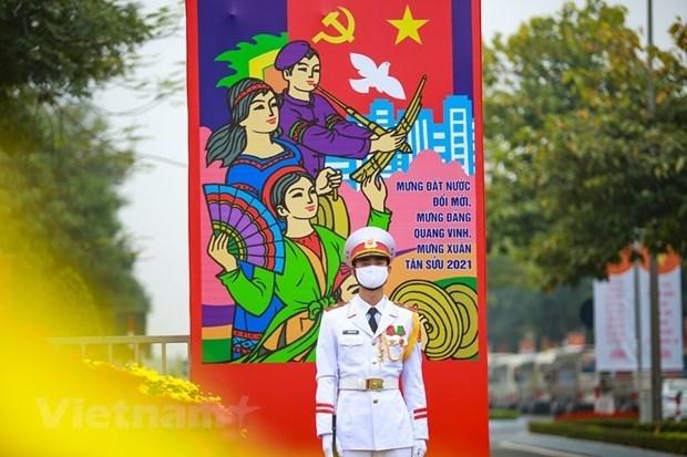 河内市举行多项文化艺术活动 庆祝国家政治生活中的大事 hinh anh 1