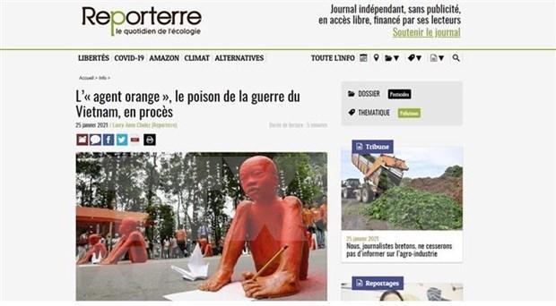 """法国媒体:陈素娥女士起诉美国化学公司案件是""""历史性案件"""" hinh anh 1"""