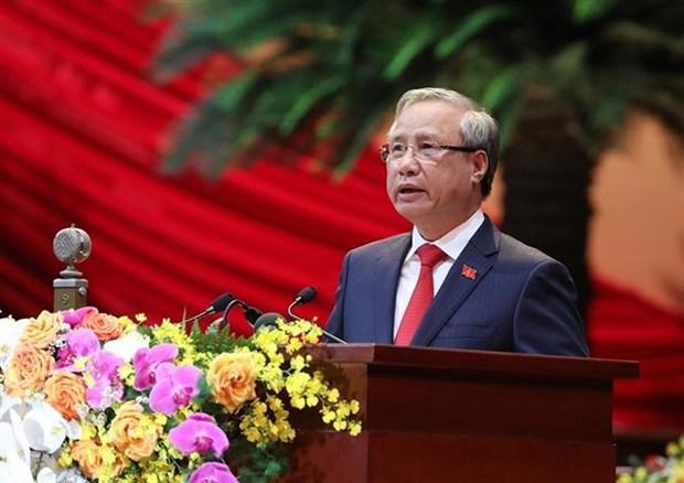 越共十三大:各政党、国际组织和国际朋友致电祝贺 hinh anh 1