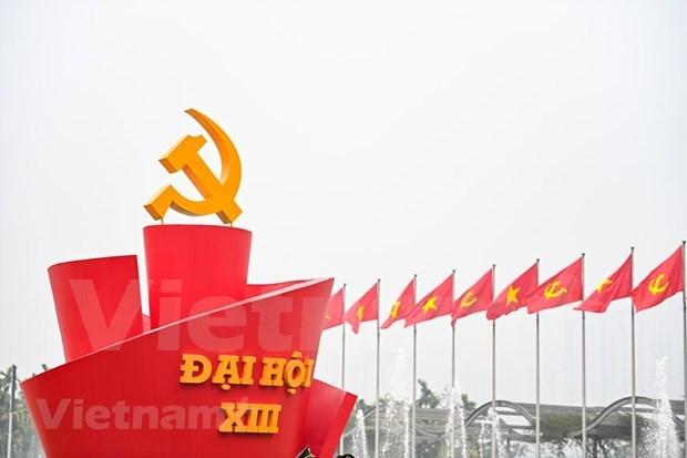 美国记者:越共十三大确定推动越南繁荣发展的方式 hinh anh 1