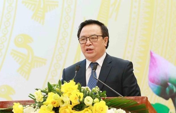 向各国驻越外交使团、国际组织通报越共十三大结果 hinh anh 1