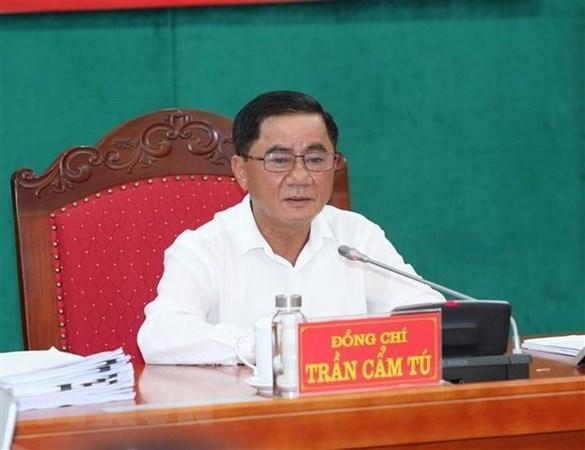 越共第十三届中央检查委员会召开第一次会议 hinh anh 1