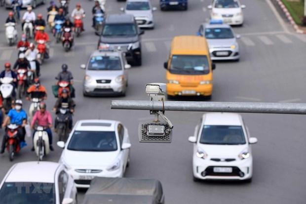 """""""投资安装交通监控摄像头以确保秩序安全和处理行政违法行为""""的提案获批 hinh anh 1"""