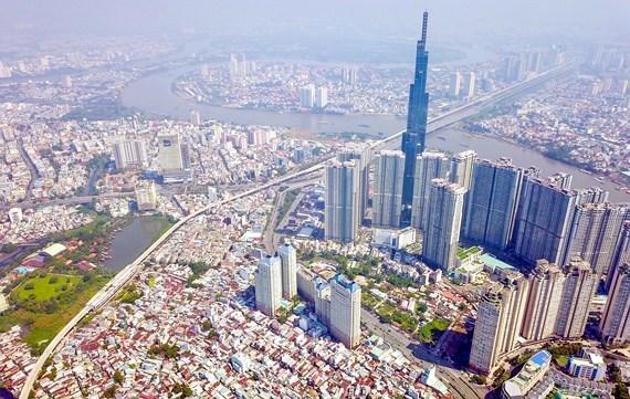 2021年初胡志明市经济亮点倍出 hinh anh 1