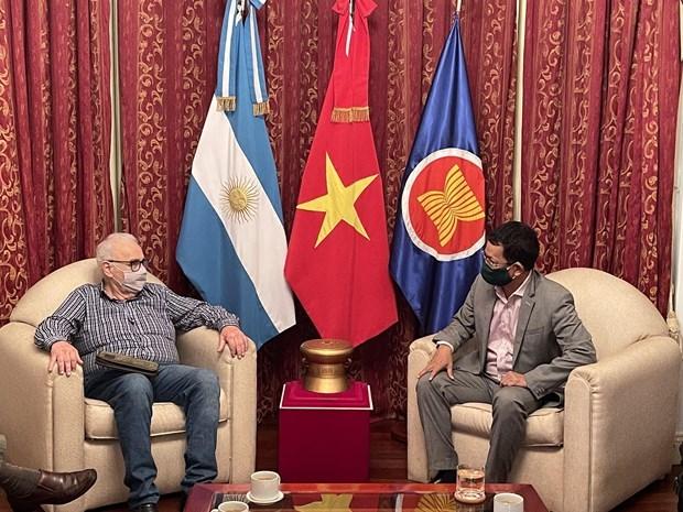 进一步深化越南与阿根廷的全面伙伴关系 hinh anh 1