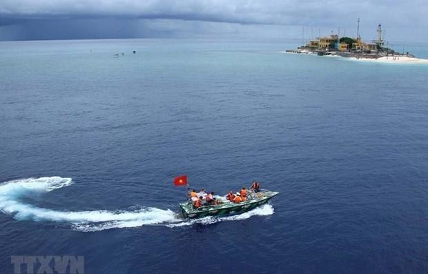 日本和英国对东海和东中国海局势表示关切 hinh anh 1