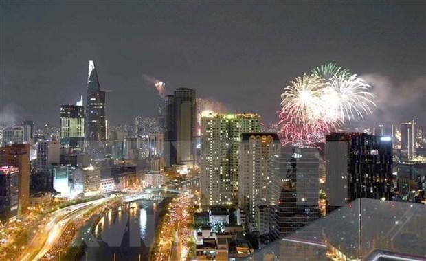 胡志明市、岘港市和芹苴市决定在2021辛丑年春节除夕不燃放烟花 hinh anh 1