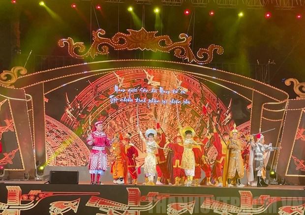 胡志明市举行纪念玉回—栋多大捷232周年的戏曲演出活动 hinh anh 1
