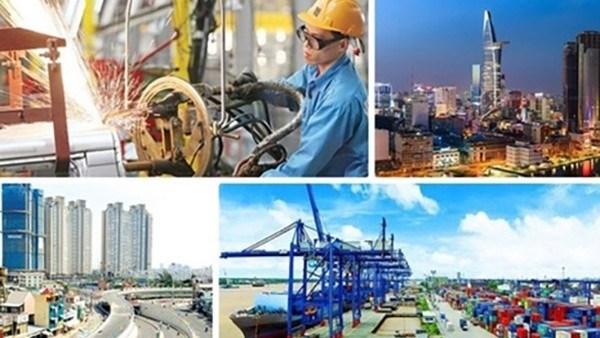 越南经济2021年初见有起色 hinh anh 1