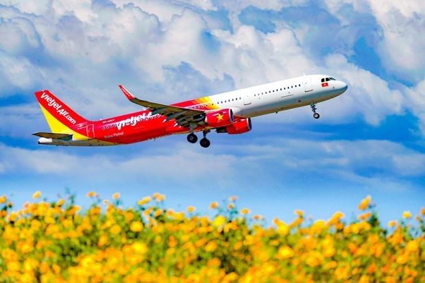 越捷航空向乘客推出20公斤的免费拖运行李服务 hinh anh 1