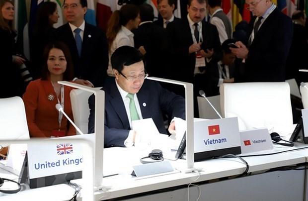 越南外交部副部长裴青山:亚欧合作的吸引力、地位及合作潜力日益上升 hinh anh 2