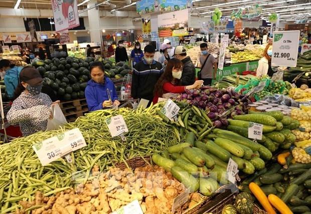 2021年2月河内市消费者物价指数增长1.8% hinh anh 1