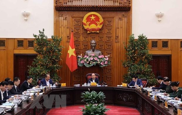 政府常务委员会就胡志明市和岘港市的城市政府模式召开会议 hinh anh 1