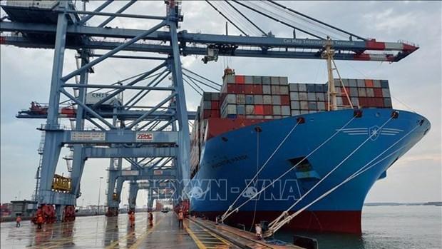 2021年前2月越南各港口进出国际船舶数量同比下降6% hinh anh 1