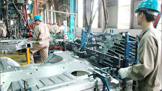 2月份河内市工业生产指数增长7.5% hinh anh 1