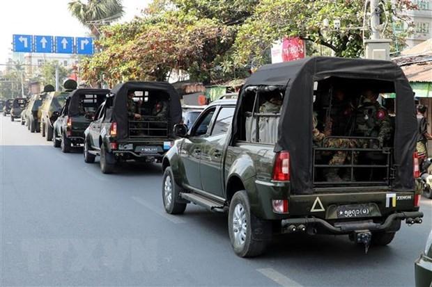 国际社会呼吁缅甸有关各方保持克制和促进对话 hinh anh 1