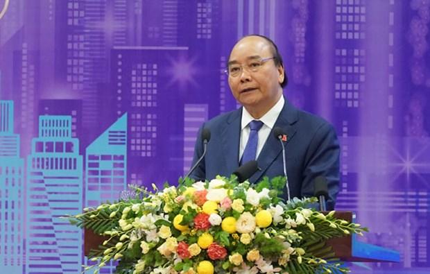 阮春福总理:越南将智慧城市发展视为助力提升国家竞争力的突破性举措 hinh anh 1