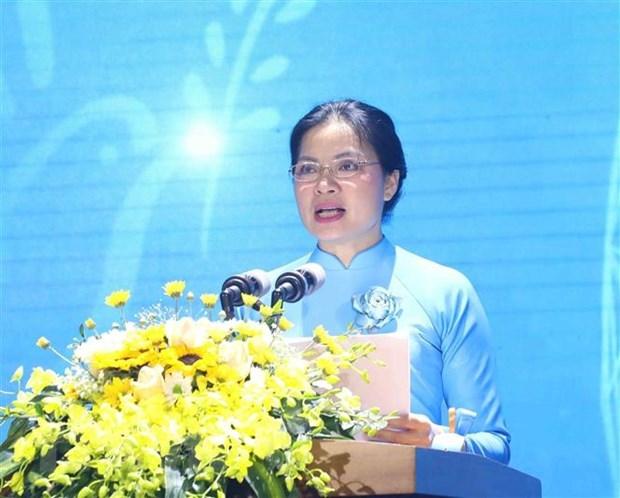 """庆祝三八国际妇女节 越南启动""""为妇女笑容""""计划 hinh anh 1"""