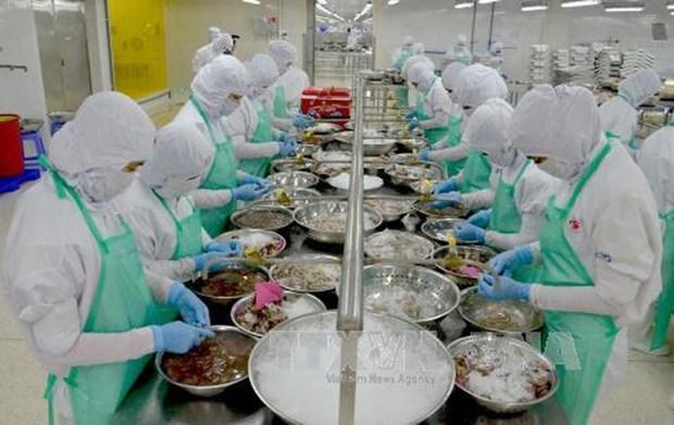 今年前2个月坚江省出口额达1.03亿多美元 hinh anh 1