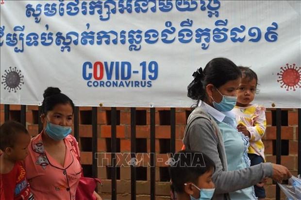 柬埔寨新冠肺炎确诊病例破千例 hinh anh 1