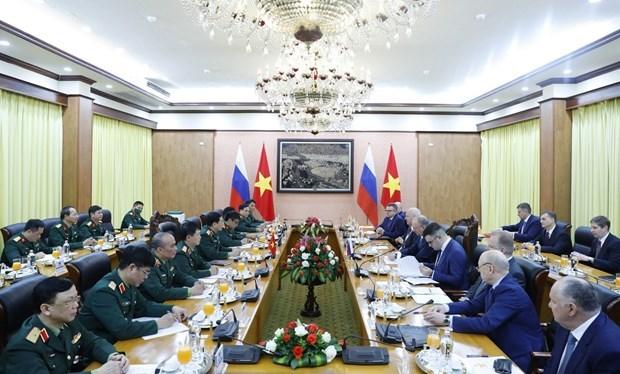 越南人民军总参谋长会见俄罗斯联邦国家安全委员会秘书 hinh anh 2