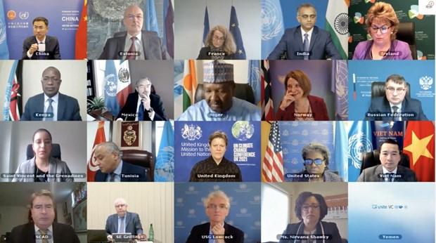 越南与联合国安理会:越南呼吁国际社会支持也门,关注保护妇女和儿童 hinh anh 1