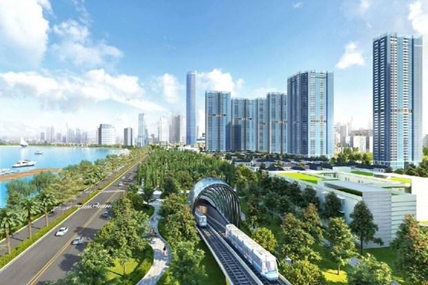河内拟投资65.4万亿越盾修建城轨5号线 hinh anh 1