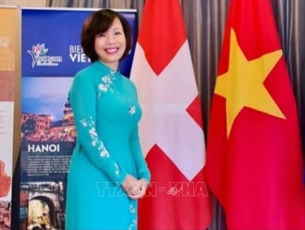 越南和瑞士半个世纪的传统友谊与良好合作之旅 hinh anh 1