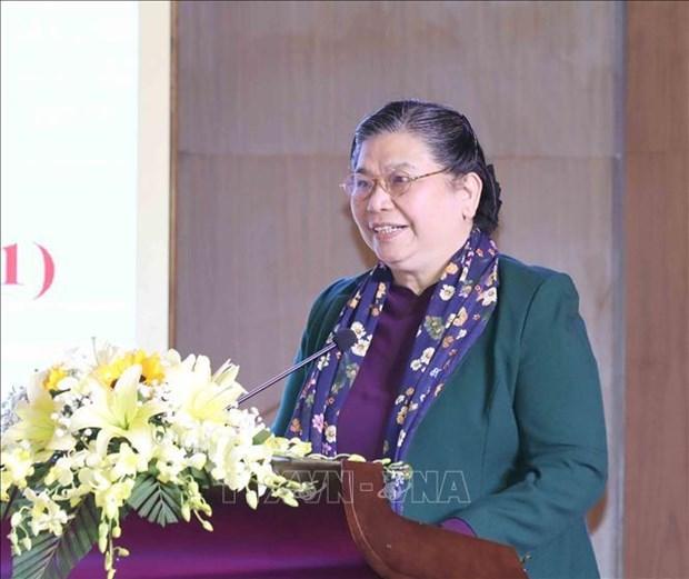 国会常务副主席丛氏放:国会对外活动是党和国家对外活动的重要组成部分 hinh anh 1