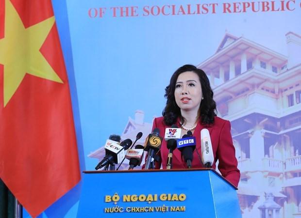 外交部例行记者会:越南希望缅甸局势尽快恢复稳定 hinh anh 1