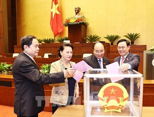 越南第十四届国会第十一次会议选举国会副主席职务 hinh anh 1