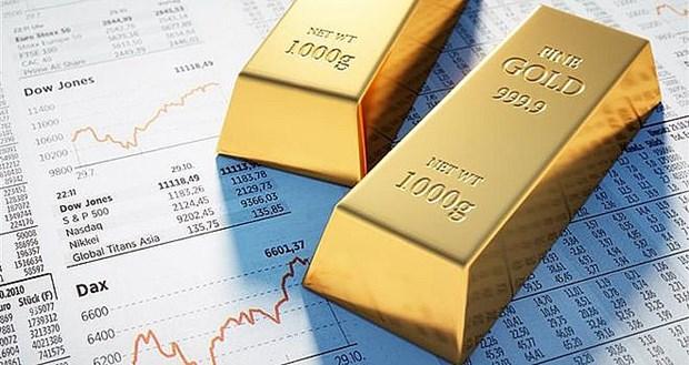今日上午越南国内市场黄金价格每两上涨20万越盾 hinh anh 1