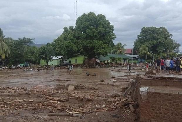 印尼山洪已造成至少44人死亡 老挝翻船事故致8人死亡 hinh anh 1